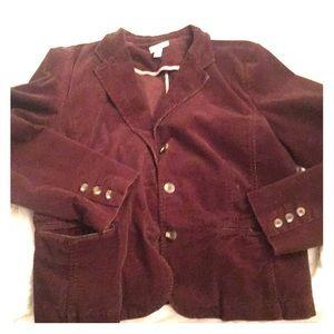 Charter club brown jacket
